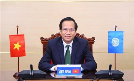 Việt Nam khẳng định ưu tiên thực hiện bình đẳng giới