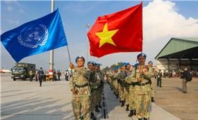 Quân y Việt Nam xuất quân gìn giữ hòa bình quốc tế