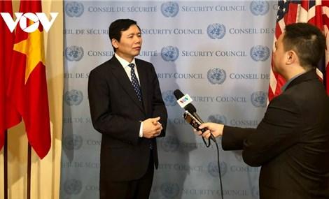 Việt Nam sẵn sàng cho Tháng Chủ tịch Hội đồng Bảo an LHQ