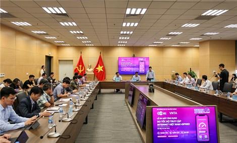 """Công bố ứng dụng """"nội"""" đo tốc độ truy cập Internet Việt Nam"""