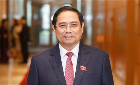 Đề cử Trưởng Ban Tổ chức Trung ương Phạm Minh Chính để bầu Thủ tướng Chính phủ