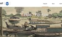 """Thư viện số Pháp - Việt - Một trang web mới thuộc bộ sưu tập """"Di sản chung"""""""