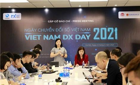 Vietnam DX Day 2021 tập trung 8 lĩnh vực trọng điểm của Chương trình Chuyển đổi số quốc gia