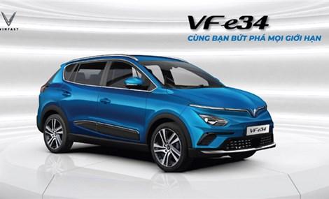 VinFast VF e34 - cuộc cách mạng trên thị trường ô tô Việt Nam