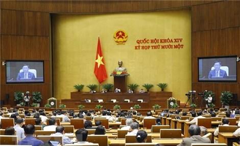 Nghị quyết phê chuẩn kết quả bầu, miễn nhiệm nhân sự một số tỉnh