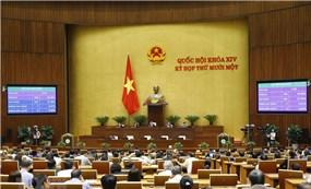 Họp Quốc hội: Tiếp tục kiện toàn nhân sự Quốc hội, Chính phủ