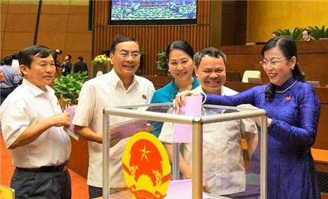 Thủ tướng trình Quốc hội kiện toàn một số thành viên Chính phủ