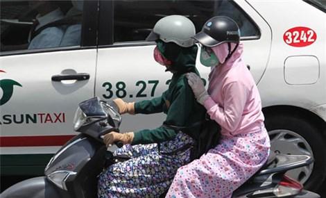 Bức xạ tia cực tím ở nhiều tỉnh, thành phố nguy hại cao đến rất cao