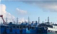 Hàng trăm tàu thuyền Trung Quốc neo đậu trái phép trên Biển Đông