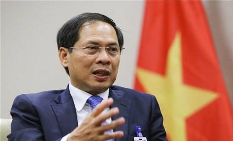 Ông Bùi Thanh Sơn được Quốc hội phê chuẩn làm Bộ trưởng Bộ Ngoại giao