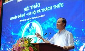 Bắc Giang đặt mục tiêu lọt top 15 địa phương chuyển đổi số