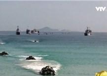 Bộ Ngoại giao phản hồi thông tin tàu hộ vệ Quang Trung diễn tập ở Trường Sa