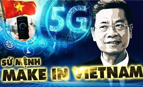 """Các nền tảng Make in Vietnam phải giải những """"nỗi đau"""" của  xã hội"""