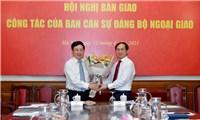 Bộ trưởng Bùi Thanh Sơn chỉ ra những thuận lợi cơ bản của Bộ Ngoại giao