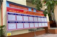 Đà Nẵng hoàn thành việc niêm yết danh sách cử tri tại địa phương
