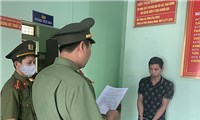 Detention of Chinese organizers for illegal entry