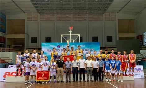 Sóc Trăng lập cú đúp tại giải bóng rổ VĐQG 2021