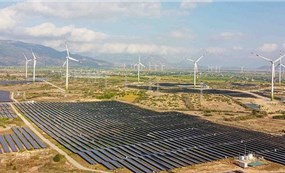 Inauguration of Trung Nam Wind Power Plant