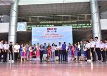 Hơn 1.000 sinh viên Việt Nam - Lào - Campuchia tham dự không gian lễ hội Tết