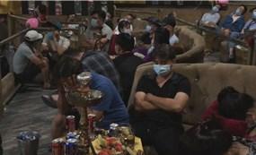 Hơn 100 thanh niên chơi ma túy trong quán bar Quận 12