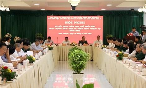 Quân khu 7 tăng cường phối hợp, nâng cao hiệu quả công tác dân vận