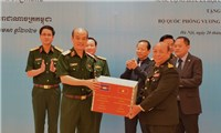 Bộ Quốc phòng Việt Nam và Campuchia chung tay phòng, chống dịch Covid-19