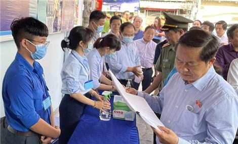 Chủ tịch nước Nguyễn Xuân Phúc được Trung ương giới thiệu về TP Hồ Chí Minh ứng cử ĐBQH