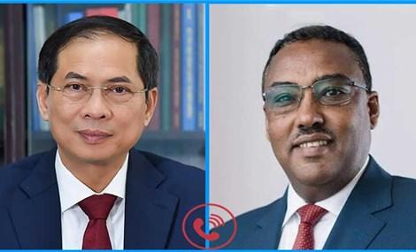 Ethiopia đánh giá cao Việt Nam thực hiện thành công mục tiêu kép