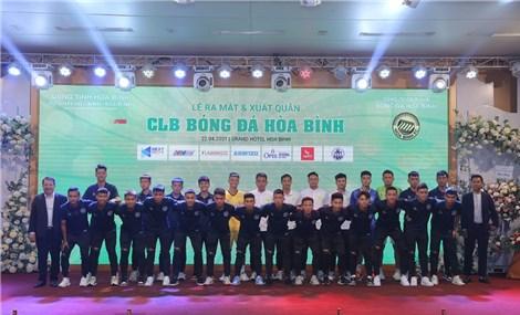 Ra mắt CLB bóng đá Hòa Bình với mục tiêu chinh phục V-Leauge sau 5 năm