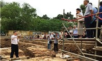 More important archaeological discoveries at The Imperial Citadel of Thang Long