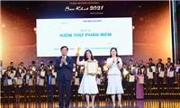 """02 sản phẩm chuyển đổi số""""Make in Vietnam"""" của GMO-Z.com RUNSYSTEM nhận cú đúp danh hiệu Sao Khuê 2021"""