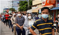 Campuchia thêm 616 ca nhiễm và hành động đẹp của người Việt được hoan nghênh