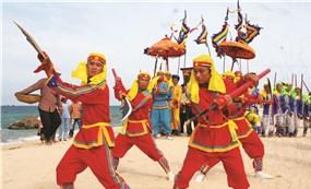 Lễ hội cổ truyền Cầu Ngư của ngư dân vùng biển miền Trung