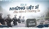 Trường Sa tháng 4 lịch sử 1975 - Những liệt sĩ đầu tiên ở Trường Sa