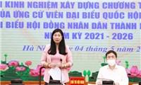 Hà Nội trao đổi kinh nghiệm, kỹ năng vận động bầu cử cho các ứng cử viên