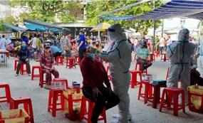 Đà Nẵng tạm dừng kinh doanh chợ Phước Mỹ, xét nghiệm Covid-19 cho tất cả tiểu thương