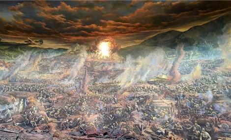 """""""Trận chiến Điện Biên Phủ"""" - Bức tranh Panorama tái hiện lịch sử lớn nhất Đông Nam Á"""