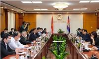 7 biện pháp thúc đẩy hợp tác thương mại Việt Nam-Campuchia