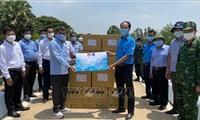 Long An hỗ trợ phòng dịch COVID-19 cho 2 tỉnh ở Campuchia