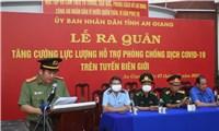 40 chiến sĩ công an An Giang tình nguyện tham gia chống dịch COVID-19