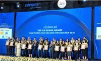 Công bố 500 doanh nghiệp tăng trưởng nhanh nhất Việt Nam