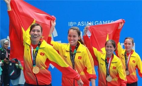 Rowing đoạt thêm suất Olympic cho Việt Nam