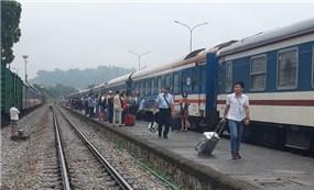 Dừng chạy nhiều đoàn tàu do ảnh hưởng của dịch COVID-19