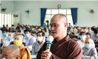 Chủ tịch nước Nguyễn Xuân Phúc tiếp chức sắc tôn giáo huyện Hóc Môn