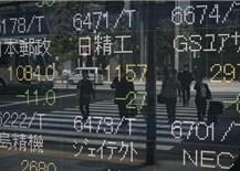 Phần lớn chứng khoán châuÁ tăng phiên giao dịch đầu tuần