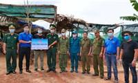 Tuổi trẻ Bình Phước chung tay hỗ trợ Campuchia phòng chống dịch Covid-19