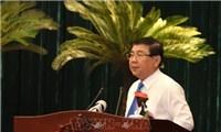 Chủ tịch TP Hồ Chí Minh: Lên phươngán ứng phó với mọi tình huống dịch bệnh