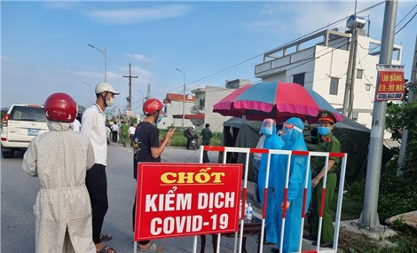 Thêm ca mắc COVID-19 ở Hưng Yên liên quan đến BN 2899 ở Hà Nam