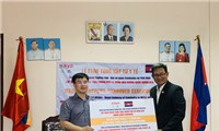Tập đoàn Dược AIKYA tặng vật tư y tế hỗ trợ nhân dân Campuchia