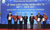 Five FDI projects worth nearly US$1 billion licensed in Binh Duong